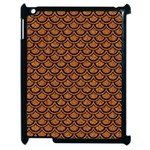 SCALES2 BLACK MARBLE & RUSTED METAL Apple iPad 2 Case (Black) Front