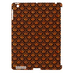 Scales2 Black Marble & Rusted Metal Apple Ipad 3/4 Hardshell Case (compatible With Smart Cover)