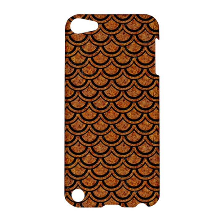 SCALES2 BLACK MARBLE & RUSTED METAL Apple iPod Touch 5 Hardshell Case