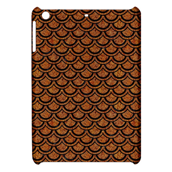 SCALES2 BLACK MARBLE & RUSTED METAL Apple iPad Mini Hardshell Case
