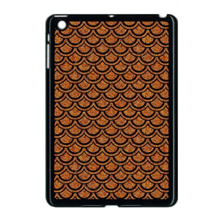 SCALES2 BLACK MARBLE & RUSTED METAL Apple iPad Mini Case (Black)
