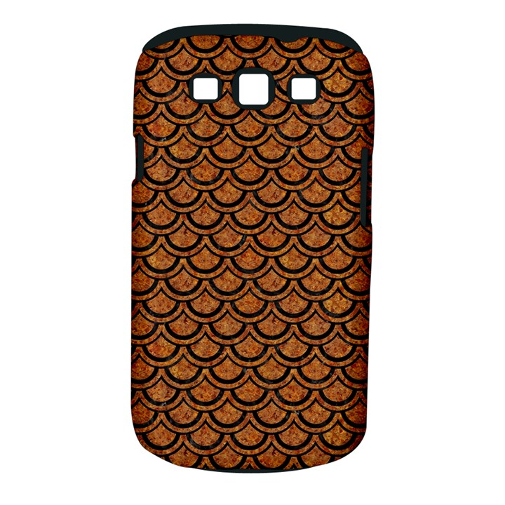 SCALES2 BLACK MARBLE & RUSTED METAL Samsung Galaxy S III Classic Hardshell Case (PC+Silicone)