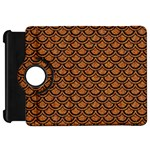 SCALES2 BLACK MARBLE & RUSTED METAL Kindle Fire HD 7  Front