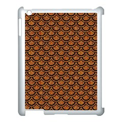 Scales2 Black Marble & Rusted Metal Apple Ipad 3/4 Case (white)