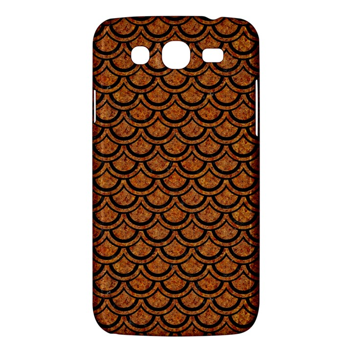 SCALES2 BLACK MARBLE & RUSTED METAL Samsung Galaxy Mega 5.8 I9152 Hardshell Case