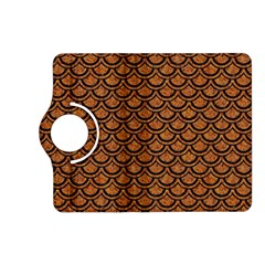 Scales2 Black Marble & Rusted Metal Kindle Fire Hd (2013) Flip 360 Case
