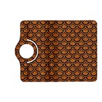 SCALES2 BLACK MARBLE & RUSTED METAL Kindle Fire HD (2013) Flip 360 Case Front