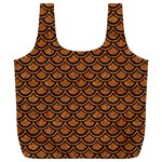 SCALES2 BLACK MARBLE & RUSTED METAL Full Print Recycle Bags (L)  Back