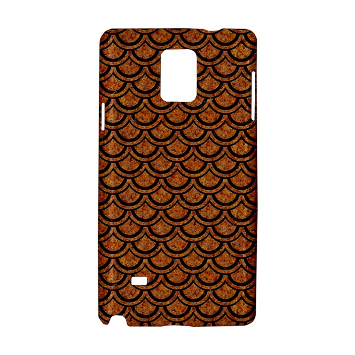 SCALES2 BLACK MARBLE & RUSTED METAL Samsung Galaxy Note 4 Hardshell Case