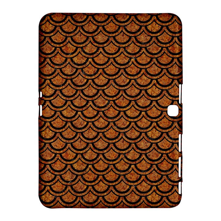 SCALES2 BLACK MARBLE & RUSTED METAL Samsung Galaxy Tab 4 (10.1 ) Hardshell Case