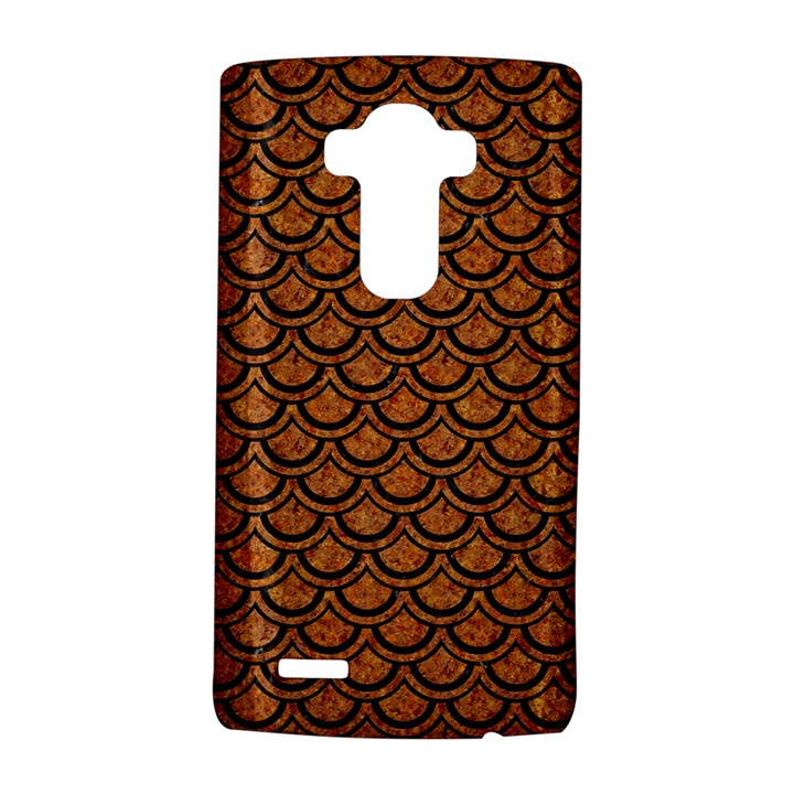 SCALES2 BLACK MARBLE & RUSTED METAL LG G4 Hardshell Case