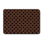 SCALES2 BLACK MARBLE & RUSTED METAL (R) Small Doormat  24 x16 Door Mat - 1