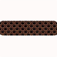 Scales2 Black Marble & Rusted Metal (r) Large Bar Mats