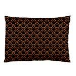 SCALES2 BLACK MARBLE & RUSTED METAL (R) Pillow Case 26.62 x18.9 Pillow Case