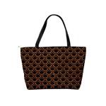 SCALES2 BLACK MARBLE & RUSTED METAL (R) Shoulder Handbags Back