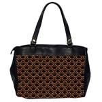 SCALES2 BLACK MARBLE & RUSTED METAL (R) Office Handbags (2 Sides)  Back