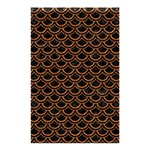 SCALES2 BLACK MARBLE & RUSTED METAL (R) Shower Curtain 48  x 72  (Small)  42.18 x64.8 Curtain