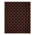 SCALES2 BLACK MARBLE & RUSTED METAL (R) Shower Curtain 60  x 72  (Medium)  54.25 x65.71 Curtain