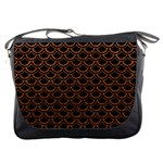 SCALES2 BLACK MARBLE & RUSTED METAL (R) Messenger Bags Front