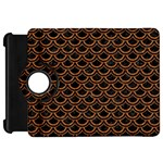 SCALES2 BLACK MARBLE & RUSTED METAL (R) Kindle Fire HD 7  Front