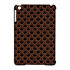 Scales2 Black Marble & Rusted Metal (r) Apple Ipad Mini Hardshell Case (compatible With Smart Cover)