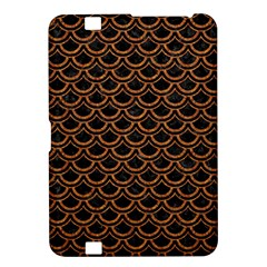 Scales2 Black Marble & Rusted Metal (r) Kindle Fire Hd 8 9