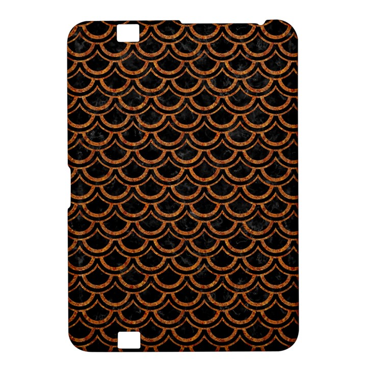 SCALES2 BLACK MARBLE & RUSTED METAL (R) Kindle Fire HD 8.9