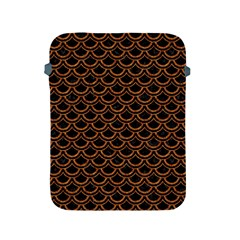 Scales2 Black Marble & Rusted Metal (r) Apple Ipad 2/3/4 Protective Soft Cases