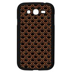SCALES2 BLACK MARBLE & RUSTED METAL (R) Samsung Galaxy Grand DUOS I9082 Case (Black) Front