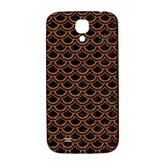 Scales2 Black Marble & Rusted Metal (r) Samsung Galaxy S4 I9500/i9505  Hardshell Back Case