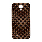 SCALES2 BLACK MARBLE & RUSTED METAL (R) Samsung Galaxy S4 I9500/I9505  Hardshell Back Case Front