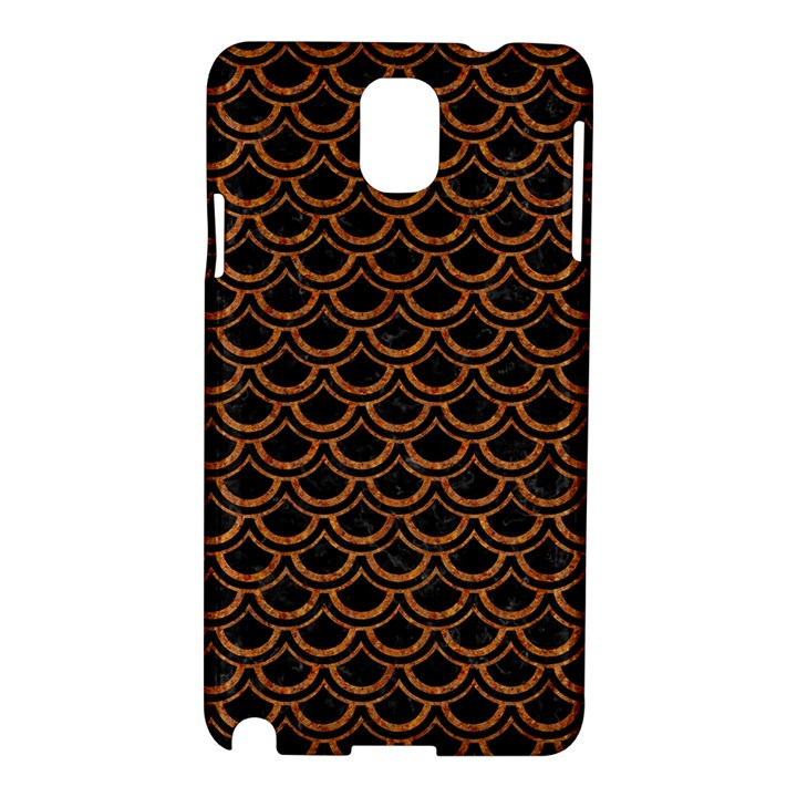 SCALES2 BLACK MARBLE & RUSTED METAL (R) Samsung Galaxy Note 3 N9005 Hardshell Case