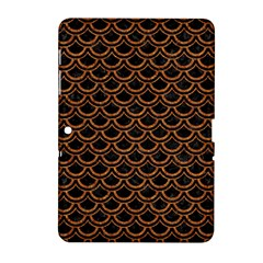 Scales2 Black Marble & Rusted Metal (r) Samsung Galaxy Tab 2 (10 1 ) P5100 Hardshell Case