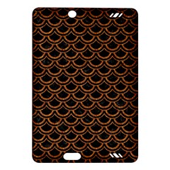 Scales2 Black Marble & Rusted Metal (r) Amazon Kindle Fire Hd (2013) Hardshell Case