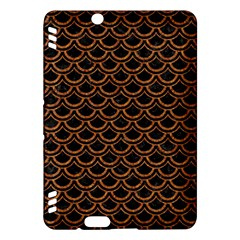 Scales2 Black Marble & Rusted Metal (r) Kindle Fire Hdx Hardshell Case
