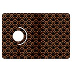 SCALES2 BLACK MARBLE & RUSTED METAL (R) Kindle Fire HDX Flip 360 Case Front