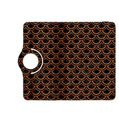 Scales2 Black Marble & Rusted Metal (r) Kindle Fire Hdx 8 9  Flip 360 Case