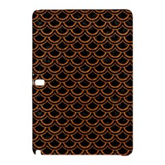 Scales2 Black Marble & Rusted Metal (r) Samsung Galaxy Tab Pro 12 2 Hardshell Case