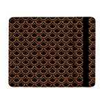 SCALES2 BLACK MARBLE & RUSTED METAL (R) Samsung Galaxy Tab Pro 8.4  Flip Case Front