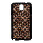 SCALES2 BLACK MARBLE & RUSTED METAL (R) Samsung Galaxy Note 3 Neo Hardshell Case (Black) Front