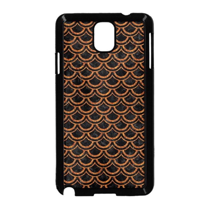 SCALES2 BLACK MARBLE & RUSTED METAL (R) Samsung Galaxy Note 3 Neo Hardshell Case (Black)
