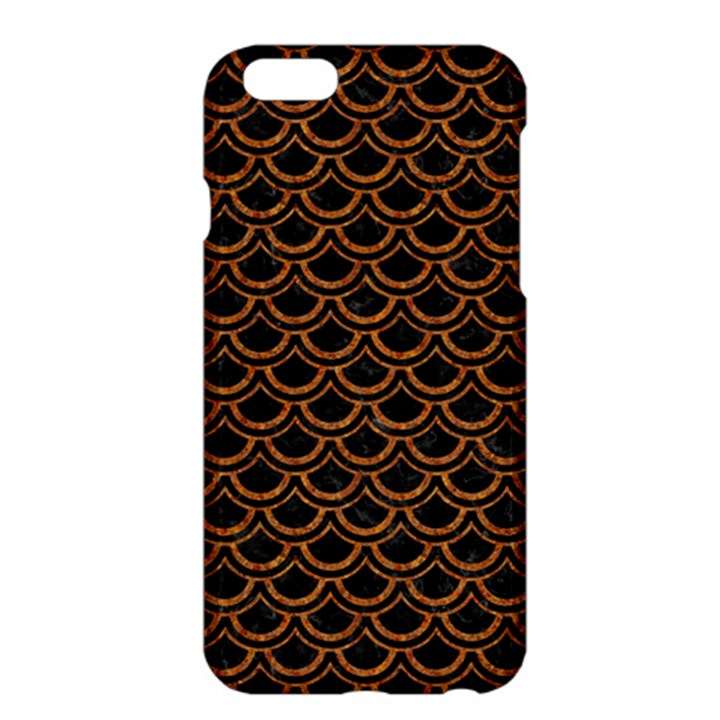 SCALES2 BLACK MARBLE & RUSTED METAL (R) Apple iPhone 6 Plus/6S Plus Hardshell Case