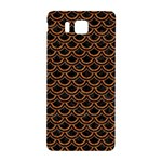 SCALES2 BLACK MARBLE & RUSTED METAL (R) Samsung Galaxy Alpha Hardshell Back Case Front