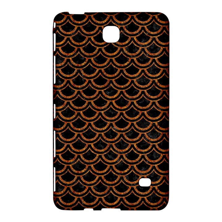 SCALES2 BLACK MARBLE & RUSTED METAL (R) Samsung Galaxy Tab 4 (8 ) Hardshell Case