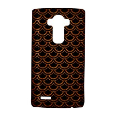Scales2 Black Marble & Rusted Metal (r) Lg G4 Hardshell Case