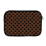 SCALES2 BLACK MARBLE & RUSTED METAL (R) Apple MacBook Pro 17  Zipper Case Front