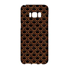Scales2 Black Marble & Rusted Metal (r) Samsung Galaxy S8 Hardshell Case
