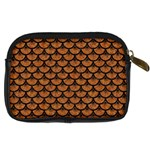 SCALES3 BLACK MARBLE & RUSTED METAL Digital Camera Cases Back