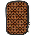 SCALES3 BLACK MARBLE & RUSTED METAL Compact Camera Cases Front