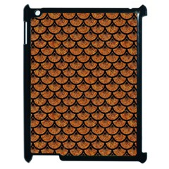 Scales3 Black Marble & Rusted Metal Apple Ipad 2 Case (black)